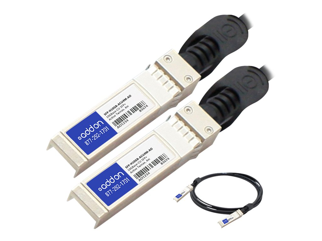 AddOn 10GBase direct attach cable - TAA Compliant - 4 m