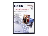 Epson Premium Semigloss Photo Paper - Semi-brillant - A3 plus (329 x 423 mm) 20 feuille(s) papier photo - pour SureColor P5000, P800, SC-P5000, T3100, T3400, T5100, T5400; WorkForce Pro WF-R8590 D3TWFC