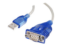 C2G USB to DB9 Serial Adapter Cable - 81632