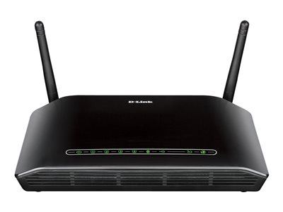 D-Link RangeBooster N DSL-2750B Wireless router DSL modem 4-port switch 802.11b/g/n
