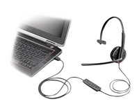 Plantronics Blackwire C315-M - 300 Series - headset - on-ear - wired
