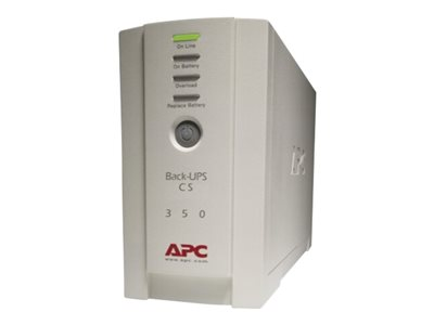 APC Back-UPS CS 350 - UPS - 210 Watt - 350 VA