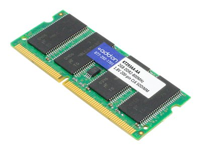 AddOn 2GB DDR2-800MHz SODIMM for HP KT293AA - DDR2 - module - 2 GB - SO-DIMM 200-pin - unbuffered