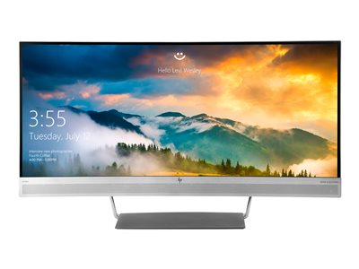 HP EliteDisplay S340C LED monitor curved 34INCH (34INCH viewable) 3440 x 1440 @ 60 Hz VA