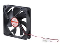 StarTech.com 120x25mm Dual Ball Bearing Computer Case Fan w/ LP4 Connector - System fan kit - 120 mm