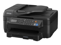 Epson WorkForce WF-2750DWF - Imprimante multifonctions - couleur - jet d'encre - A4/Legal (support) - jusqu'à 33 ppm (impression) - 150 feuilles - 33.6 Kbits/s - USB 2.0, Wi-Fi(n)