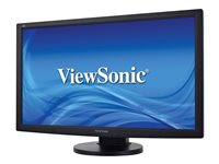 "ViewSonic VG2433MH - Écran LED - 24"" (23.6"" visualisable) - 1920 x 1080 Full HD (1080p) - TN - 300 cd/m² - 1000:1 - 5 ms - HDMI, DVI, VGA - haut-parleurs"