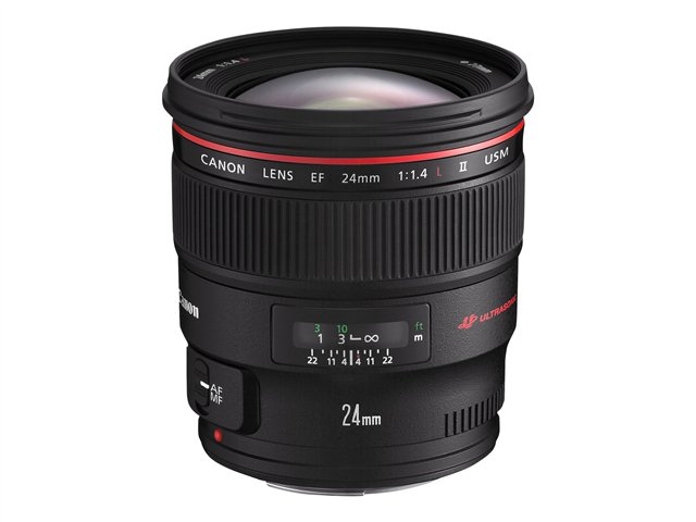 Canon EF wide-angle lens - 24 mm