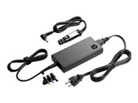 HP Slim Combo Adapter with USB - Power adapter - AC / car - AC 90-264 V - 90 Watt - United States - for HP 34X G5; EliteBook 830 G5, 840r G4; EliteBook x360; ProBook 64X G4, 650 G4; ZBook x2