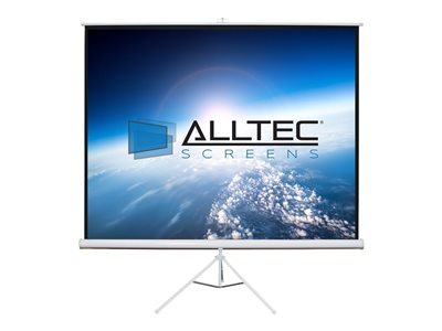 Alltec Screens Projection screen with tripod 113INCH (113 in) 1:1 Matte White white