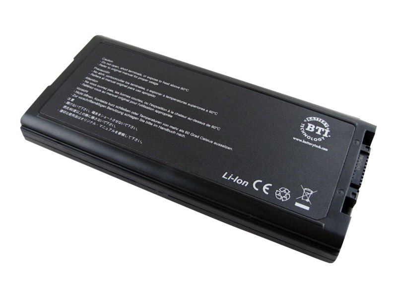 BTI - Laptop-Batterie - 1 x Lithium-Ionen 9 Zellen 7800 mAh - für Panasonic Toughbook CF-29, CF-51