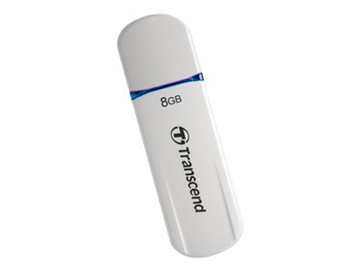 Transcend JetFlash 620 - USB-Flash-Laufwerk - 8 GB - USB 2.0 - Blau