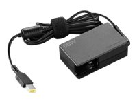 Lenovo 65W Travel AC Adapter - Netzteil - Wechselstrom 120/230 V - 65 Watt - Europa - für ThinkPad 11; L470; L570; P51; T470; T570; X270; ThinkPad Yoga 11; 370