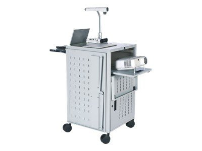 Bretford Basics PAL Multimedia Presentation Cart TCP23FF-GM