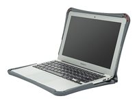 Brenthaven Edge Notebook top and rear cover 13INCH gray, clear -