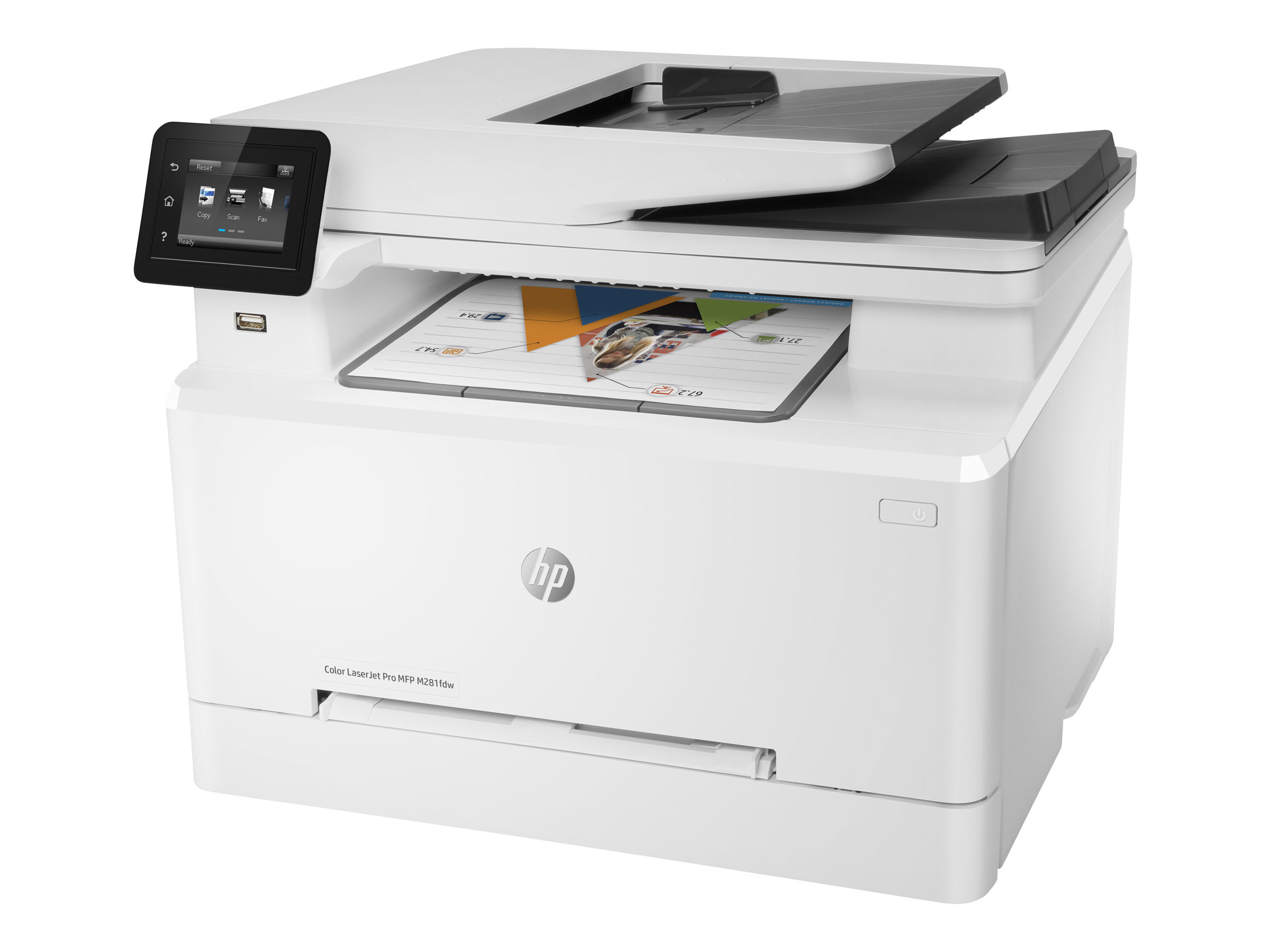 HP Color LaserJet Pro MFP M281fdw - multifunction printer - color