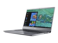 """Acer Swift 3 SF314-56-52NK - Core i5 8265U / 1.6 GHz - Win 10 Familiale 64 bits - 8 Go RAM - 256 Go SSD NVMe - 14"""" IPS 1920 x 1080 (Full HD) - UHD Graphics 620 - Wi-Fi, Bluetooth - argent brillant - kbd : AZERTY French"""