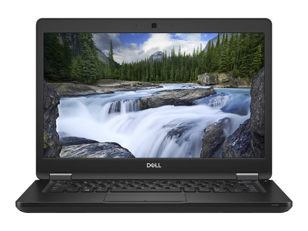 Dell Latitude 5490 - Core i5 8250U / 1.6 GHz - Win 10 Pro 64-Bit - 8 GB RAM - 256 GB SSD - 35.6 cm (14