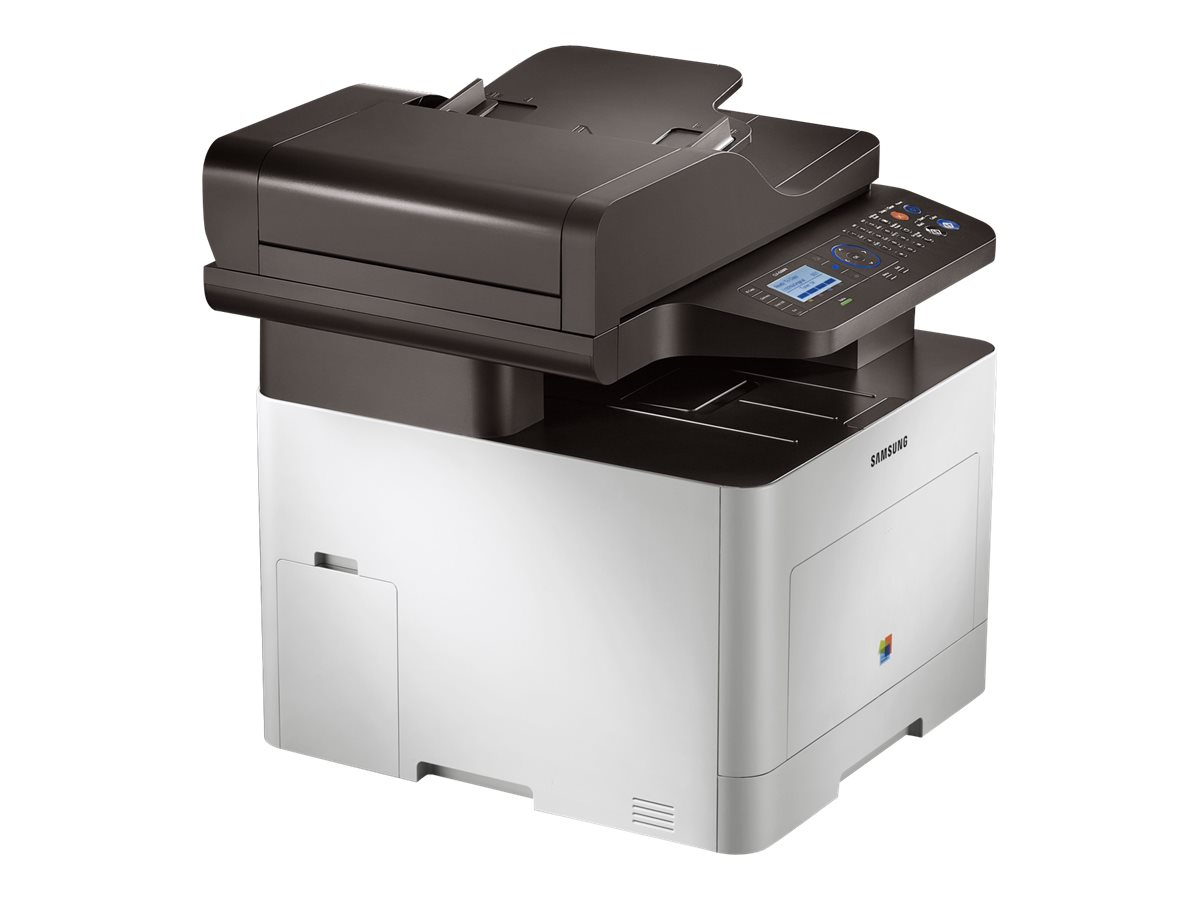 Samsung CLX-6260FR - Imprimante multifonctions - couleur - laser - A4 (210 x 297 mm), Legal (216 x 356 mm) (original) - A4/Legal (support) - jusqu'à 24 ppm (copie) - jusqu'à 24 ppm (impression) - 300 feuilles - 33.6 Kbits/s - USB 2.0, Gigabit LAN, hôte USB