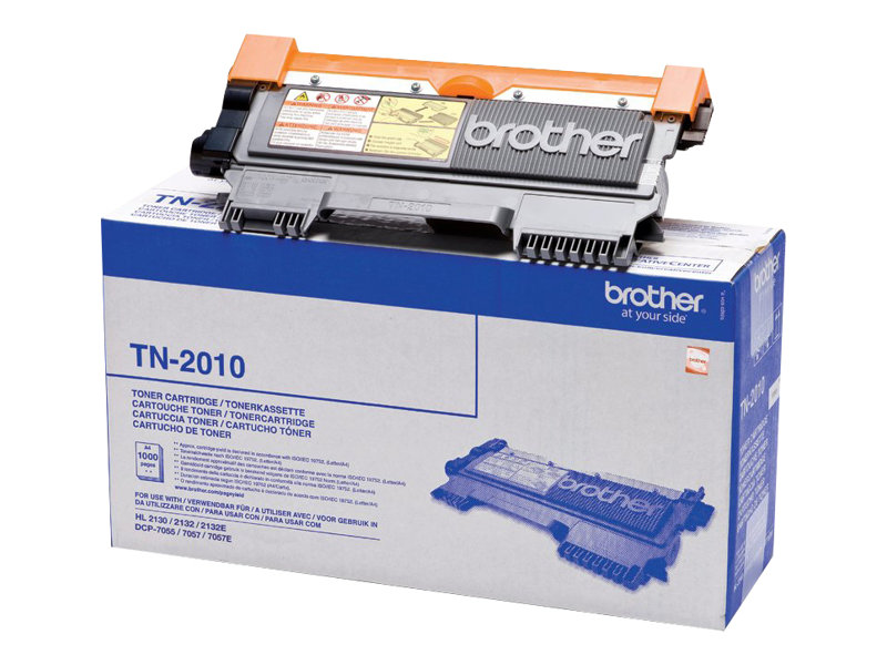 Brother TN2010 - noir - toner d'origine - cartouche laser