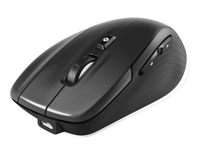 3Dconnexion CadMouse Wireless Optisk Trådløs Kabling Sort