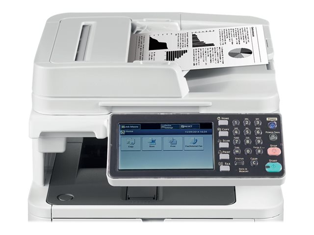 Image of OKI MB492dn - multifunction printer - B/W