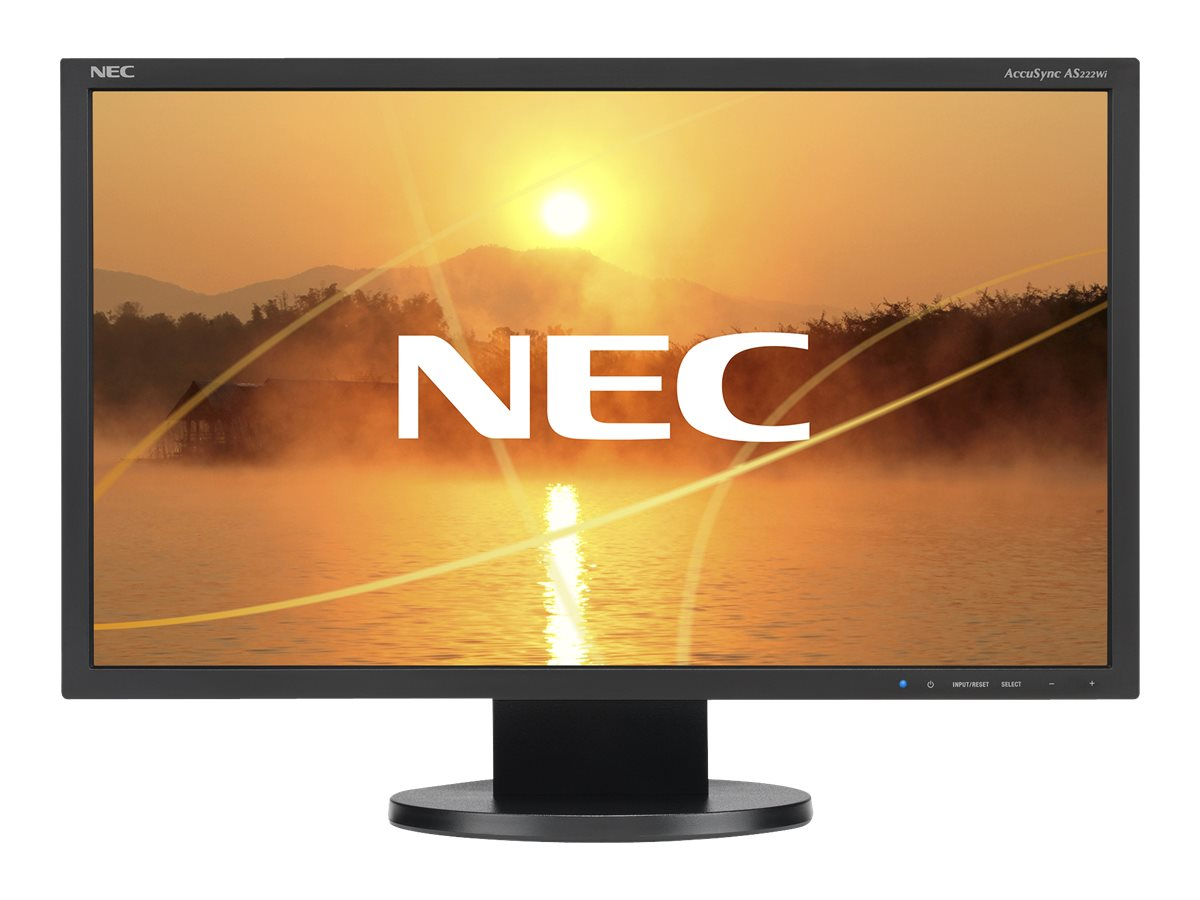 NEC AccuSync AS222Wi - LED-Monitor - 55 cm (22