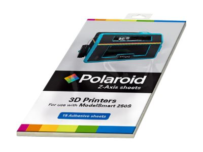 Polaroid Z-Axis Sheets - 15er-Pack - 3D print base protection adhesive sheets (3D) - für Polaroid ModelSmart 250S