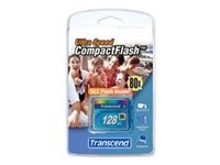 Transcend Ultra Performance - Flash-Speicherkarte - 128 MB - 80x - CompactFlash