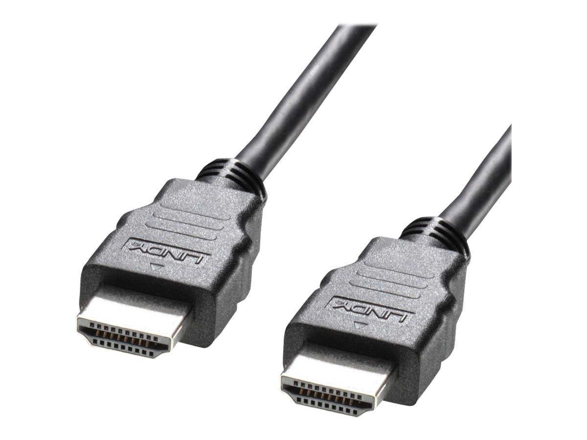 Lindy High Speed HDMI Cable with Ethernet - HDMI mit Ethernetkabel - HDMI (M) bis HDMI (M) - 3 m