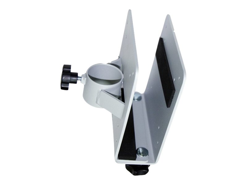 NewStar THINCLIENT-10 - Montagekomponente (Halter) für für Thin Client - Silber - Stangenbefestigung - für NewStar Full Motion Dual Desk Mount, Tilt/Turn/Rotate Quad Desk Mount
