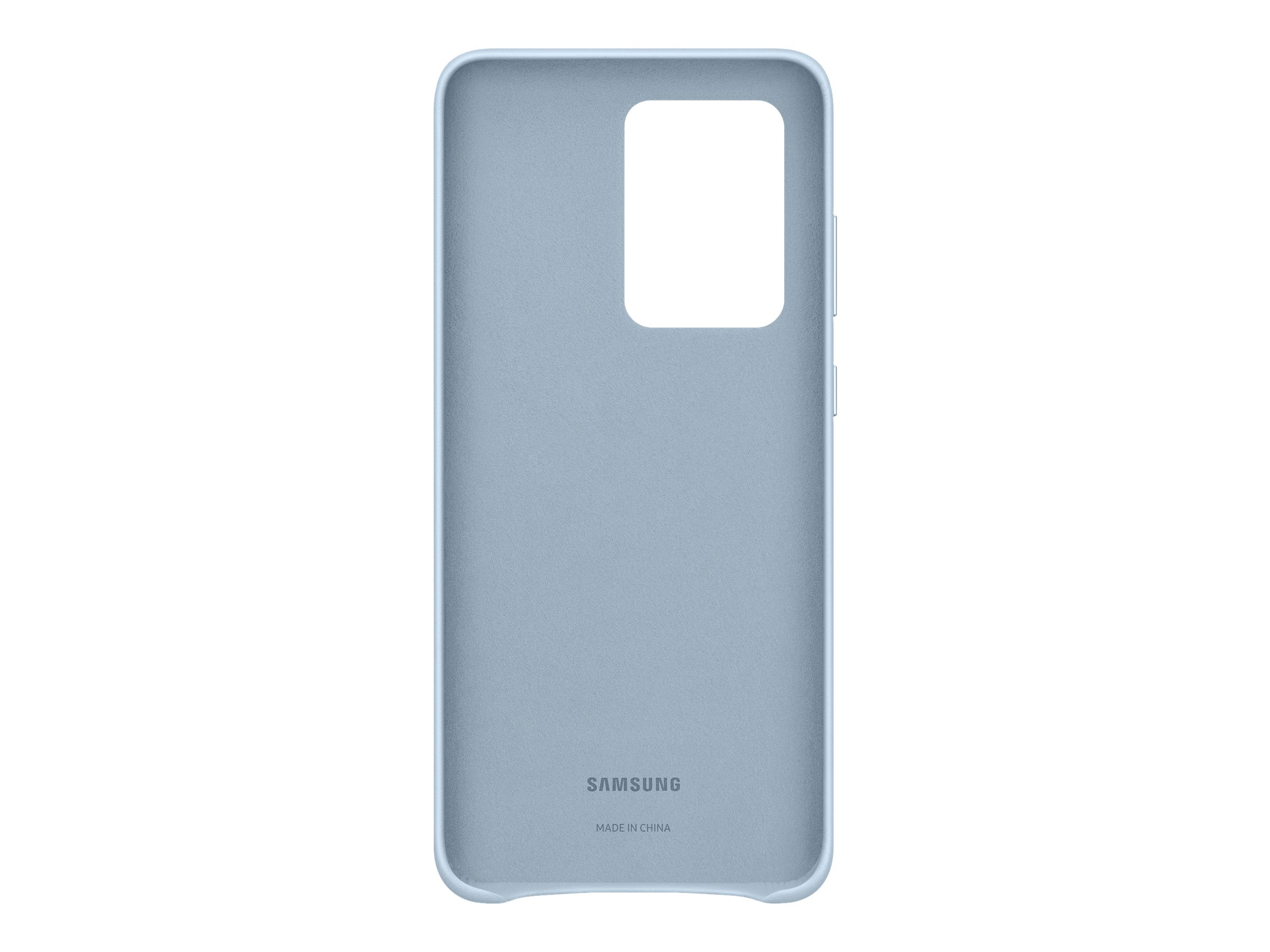 Samsung Leather Cover EF-VG988 - back cover for cell phone