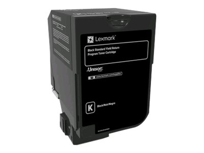 Lexmark - Black - original - toner cartridge LCCP, LRP