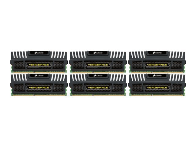 CORSAIR Vengeance - DDR3 - 24 GB: 6 x 4 GB - DIMM 240-pin - unbuffered