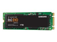 Samsung 860 EVO MZ-N6E500BW - Disque SSD - chiffré - 500 Go - interne - M.2 2280 - SATA 6Gb/s - mémoire tampon : 512 Mo - AES 256 bits - TCG Opal Encryption 2.0
