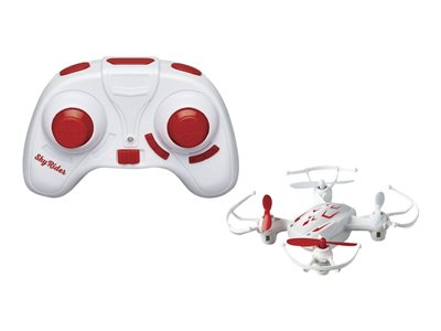 GPX Mini Quadcopter Drone with LEDs red