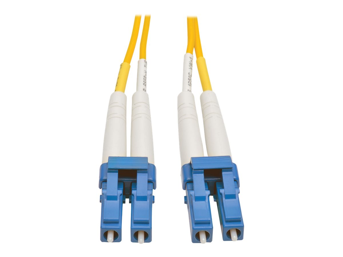 Tripp Lite 50M Duplex Singlemode 8.3/125 Fiber Optic Patch Cable LC/LC 164' 164ft 50 Meter - patch cable - 50 m - yellow
