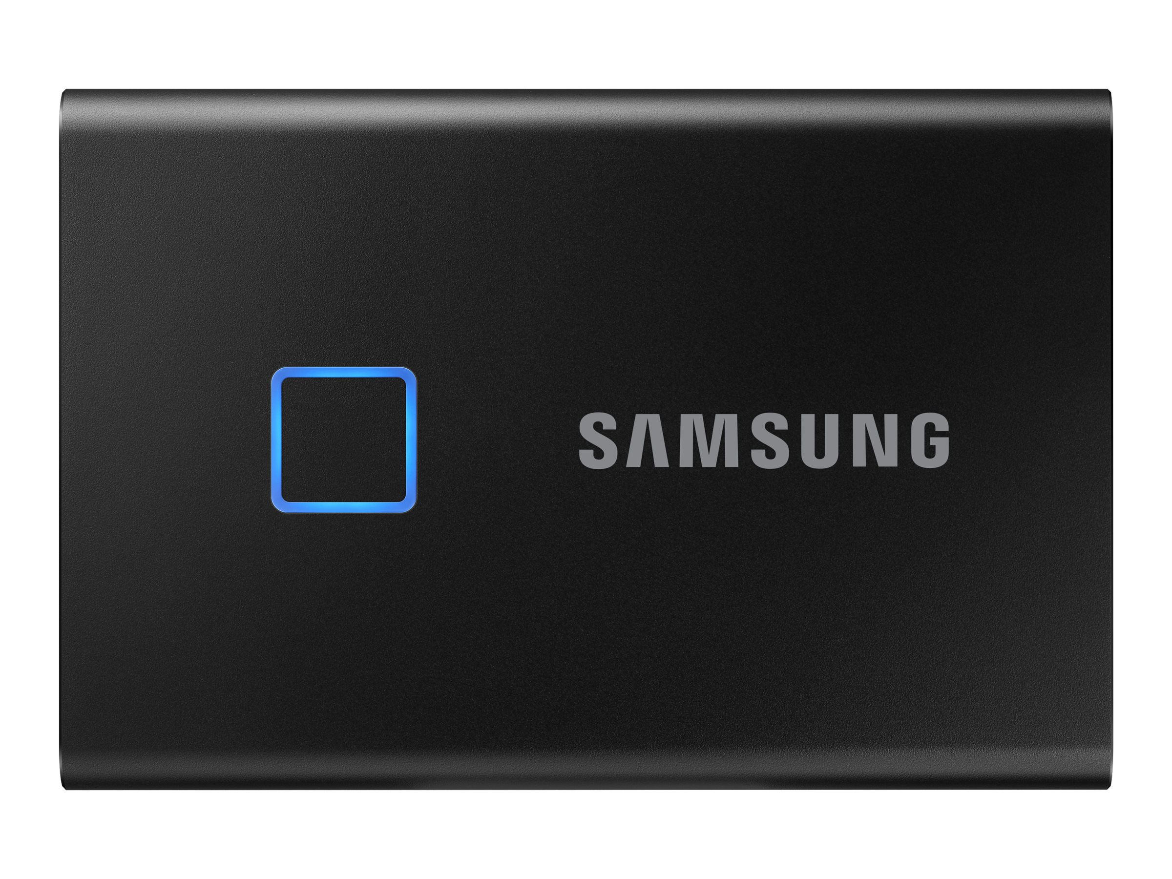 Samsung Portable SSD T7 Touch MU-PC1T0K - solid state drive - 1 TB - USB 3.2 Gen 2 -