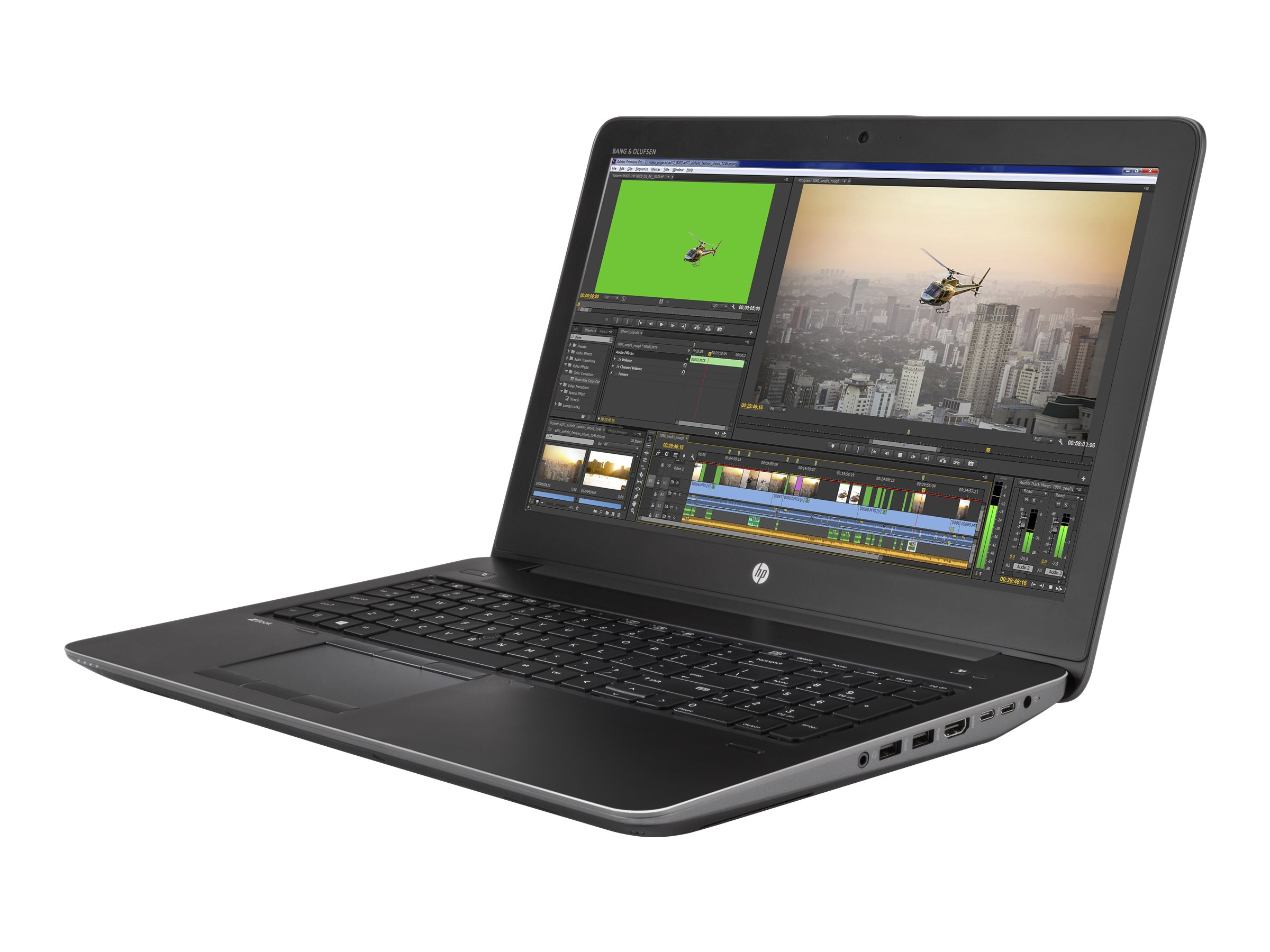 HP ZBook 15 G3 Mobile Workstation - Core i7 6820HQ / 2.7 GHz - Win 7 Pro 64-bit (mit Win 10 Pro 64-bit Lizenz) - 16 GB RAM - 256 GB SSD HP Z Turbo Drive - 39.6 cm (15.6