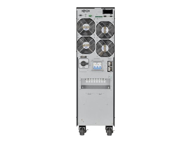 Tripp Lite SmartOnLine SVTX Series 3-Phase 380/400/415V 10kVA 9kW On-Line Double-Conversion UPS, Tower, Extended Run, SNMP Option