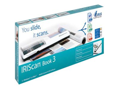 IRIS IRIScan Book 3 - Scanner à main - A4 - 900 ppp - USB 2.0