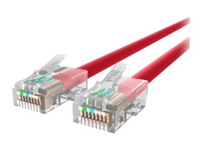Belkin Patch cable RJ-45 (M) to RJ-45 (M) 7 ft UTP CAT 5e red B2B