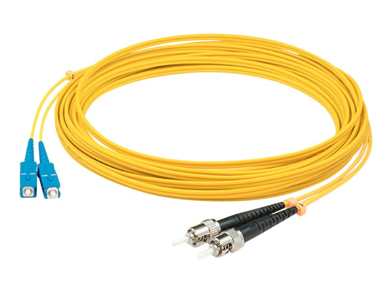 AddOn 3m SC to ST OS1 Yellow Patch Cable - patch cable - 3 m