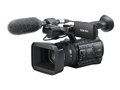 Sony XDCAM PXW-Z150 Camcorder 4K / 30 fps 20.0 MP 12x optical zoom flash card
