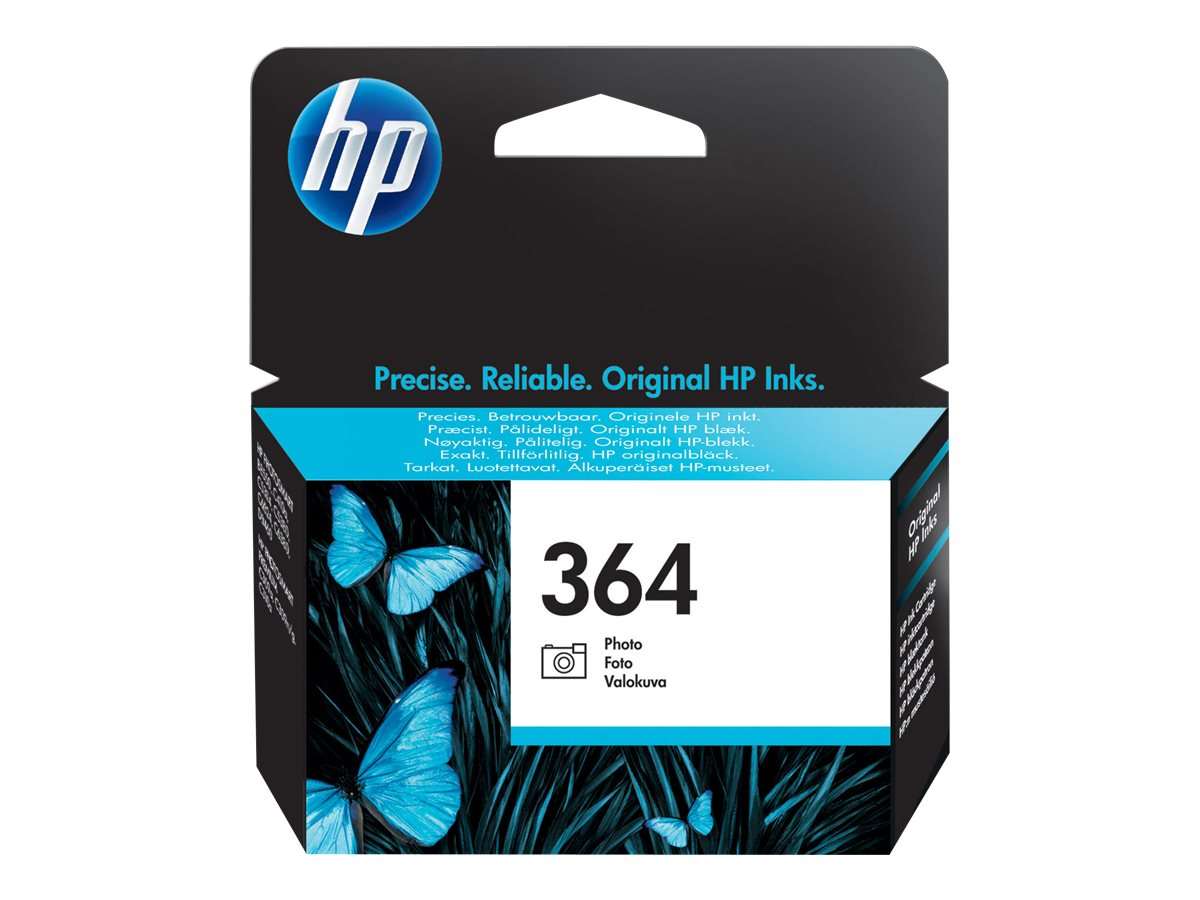 HP 364 - photo black - original - ink cartridge