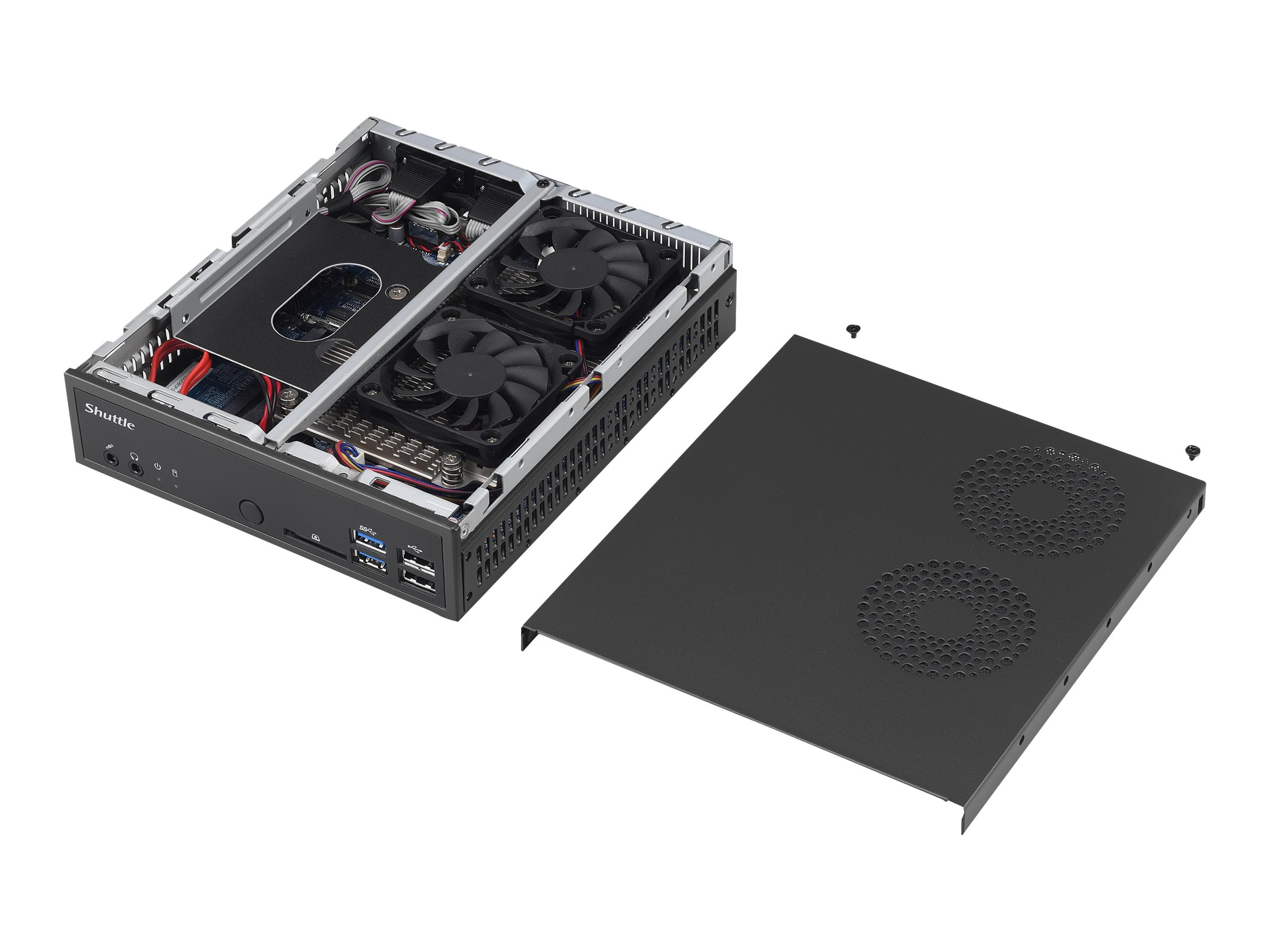 Shuttle XPC slim DH170 - Barebone - Slim-PC - LGA1151 Socket - Intel H170 Express - GigE