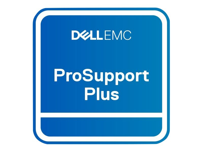 Dell Upgrade from 3Y ProSupport to 3Y ProSupport Plus - extended service agreement - 3 years - on-site