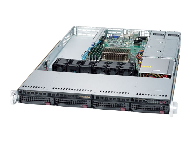 Supermicro SuperServer 5019S-WR - rack-mountable - no CPU - 0 GB - no HDD