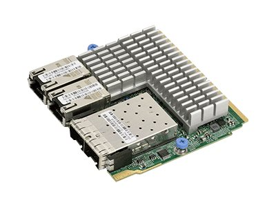 Supermicro Add-on Card AOC-MH25G-M2S2T - network adapter - 25 Gigabit Ethernet x 2 + 10Gb Ethernet x 2