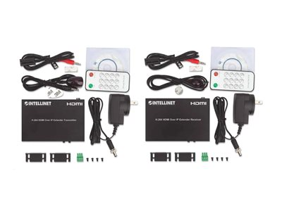 Intellinet H.264 HDMI Over IP Extender Kit, Up to 100m